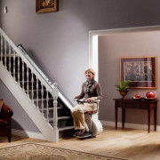 Stairlift for straight staircases HomeGlide Extra