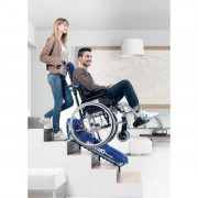 Device for stair climbing wheelchair Series 04